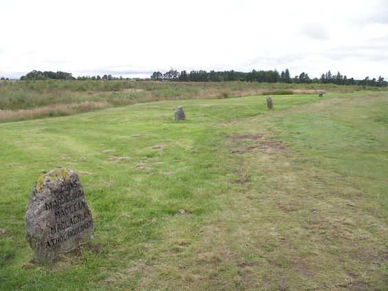 Burial stones at Culloden