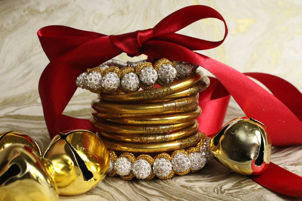 Jessica: Gold All Weather Bangles are my indispensable daily go-to. They make a great gift not only because you will wear them everyday, but because you will end up giving some away and passing on the love.