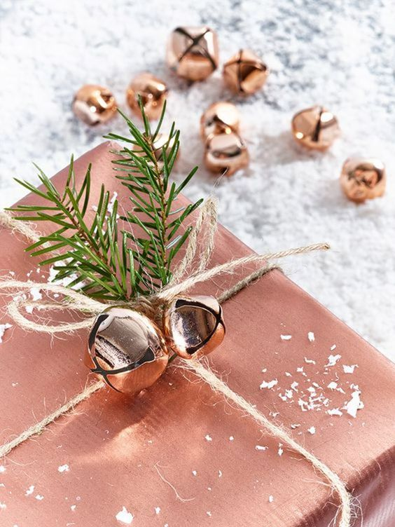 We believe that the wrapping paper should be as thoughtfully composed as the present itself. Take the time to pick a beautiful paper, an interesting ribbon, and then top it off with something extra sweet like jingle bells, tree trimmings, a dried flower or a personal note.