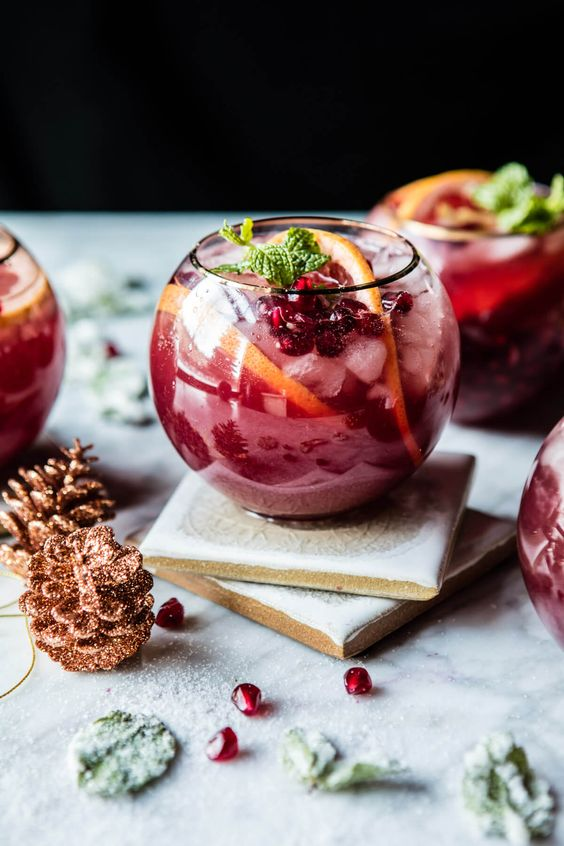 When all is finished, treat yourself.  Pomegranate Ginger Paloma , anyone?