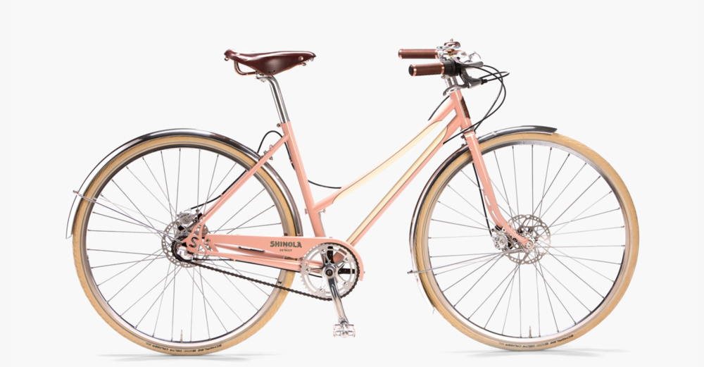 Ride into 2018 on a  Shinola Bixby  bicycle. This American-built bike is made from imported and domestic steel and is designed for comfort, utility and smooth urban riding.