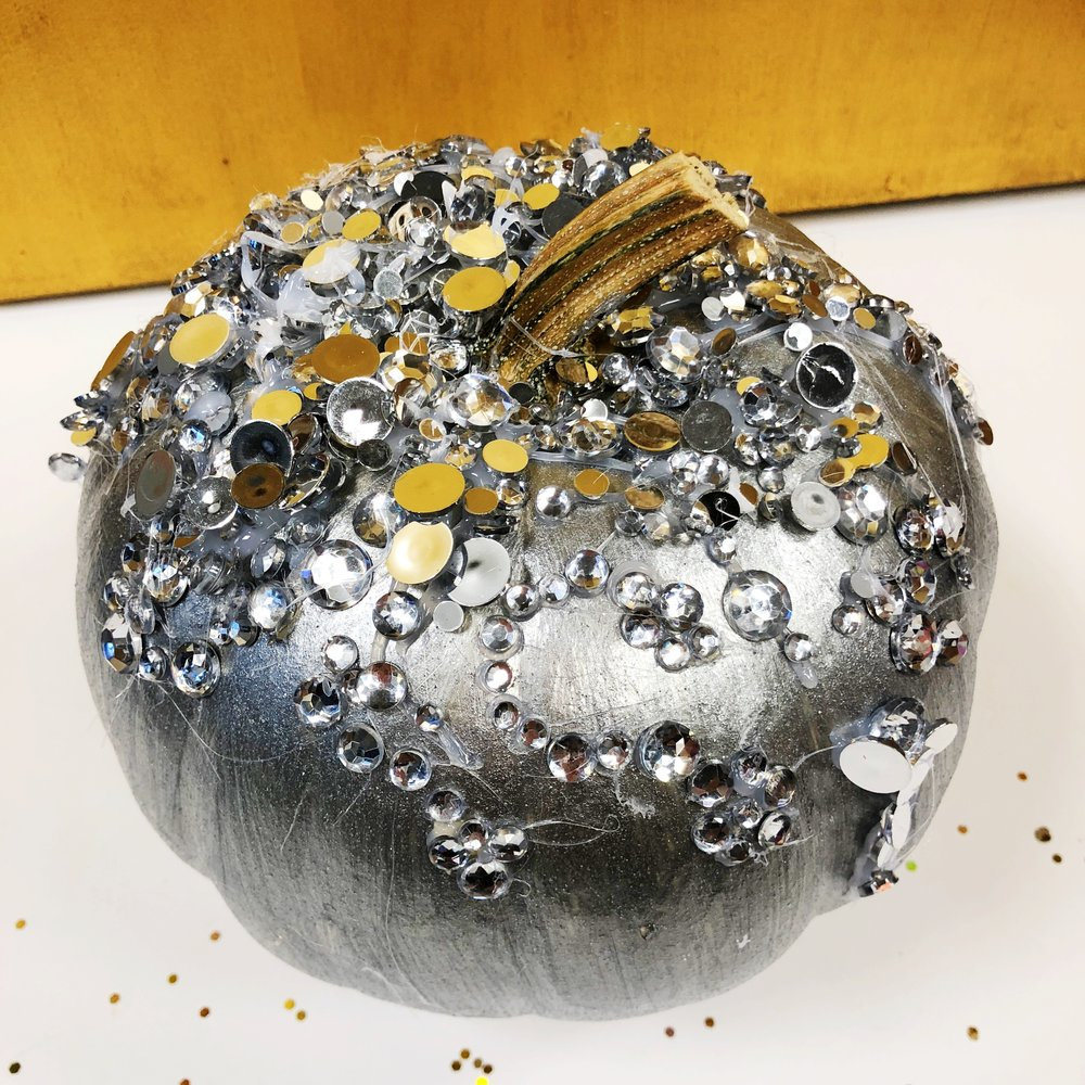 Glitter Gourd by Twyla