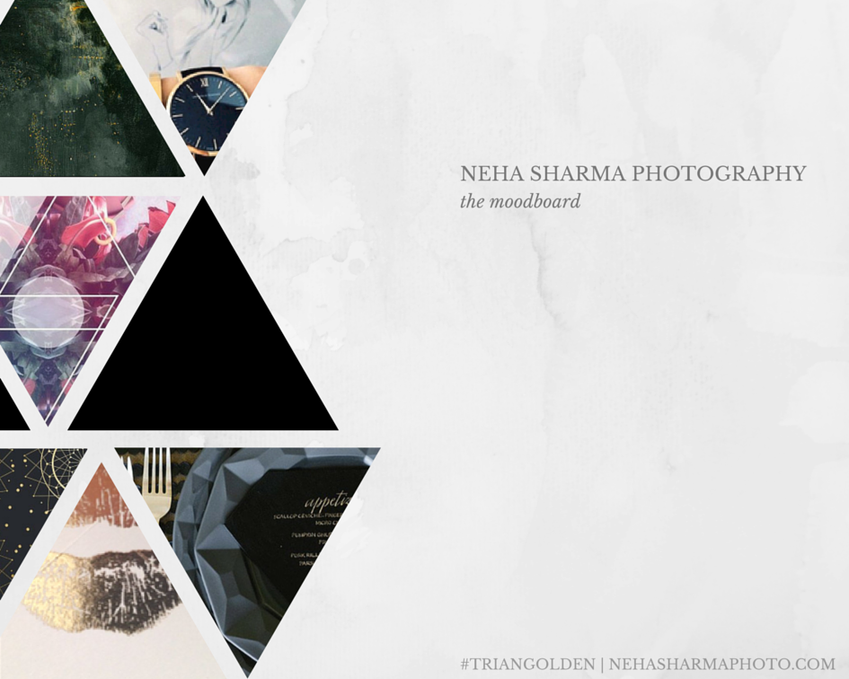 photography business branding moodboard