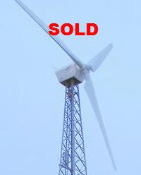 Vindsyssel 130KW Wind Turbine for sale