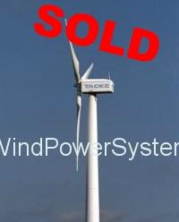 Tacke TW250 – 250kW Wind Turbine