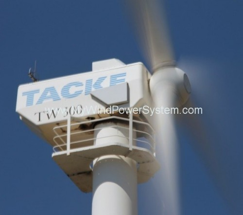 2 x TACKE TW300 – 300kW Wind Turbines For Sale