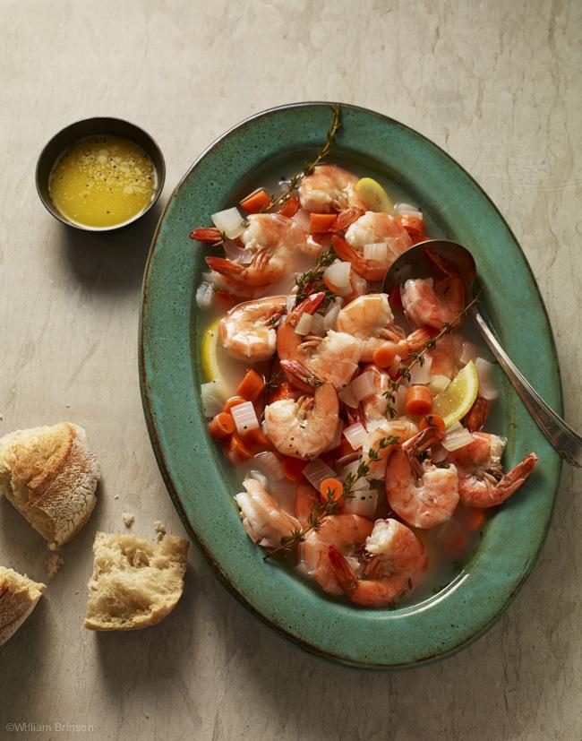 Classic Shrimp in Broth