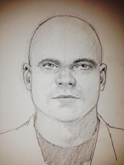 A Cognitive Sketch by Gil Zamora, 2014.