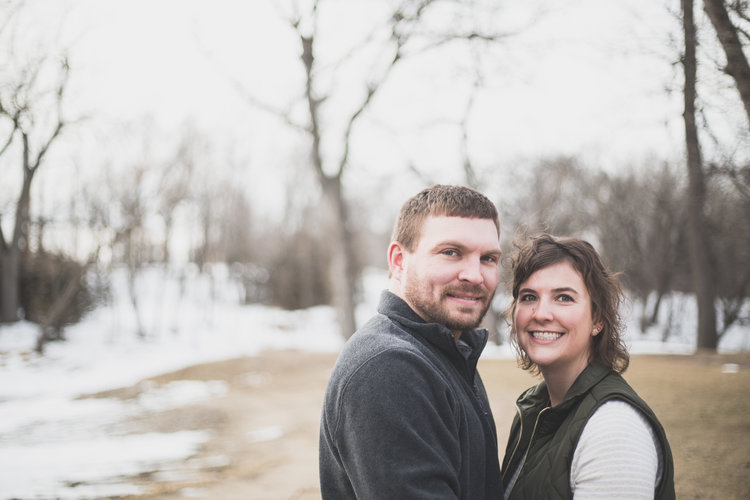 Whitney And Austins South Dakota Engagement Session