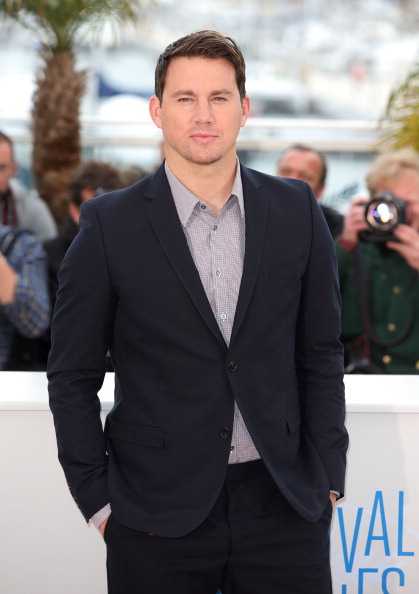 Channing Tatum at the 'Foxcatcher' photo call