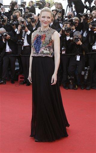 Oscar winner Cate Blanchett on the red carpet