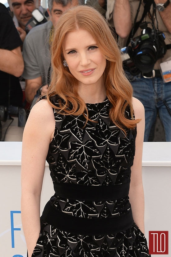 Jessica Chastain premieres her new movie