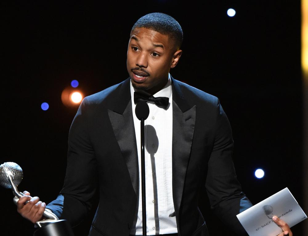 Michael B. Jordan wins Best Actor for 'Creed'