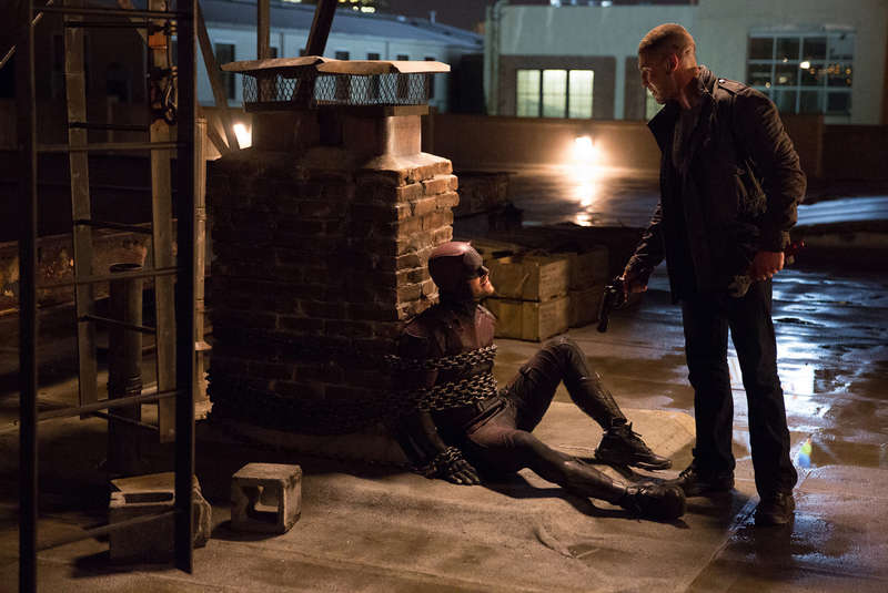 It's Daredevil vs The Punisher in Season 2 of Marvel's hit Netflix show