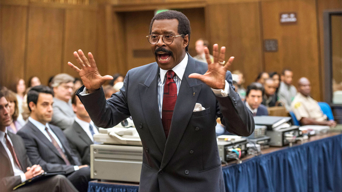 Courtney B. Vance steals the show as Johnnie Cochran