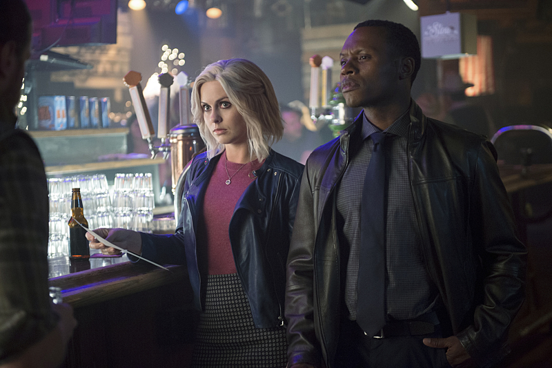 Liv and Clive in cop mode