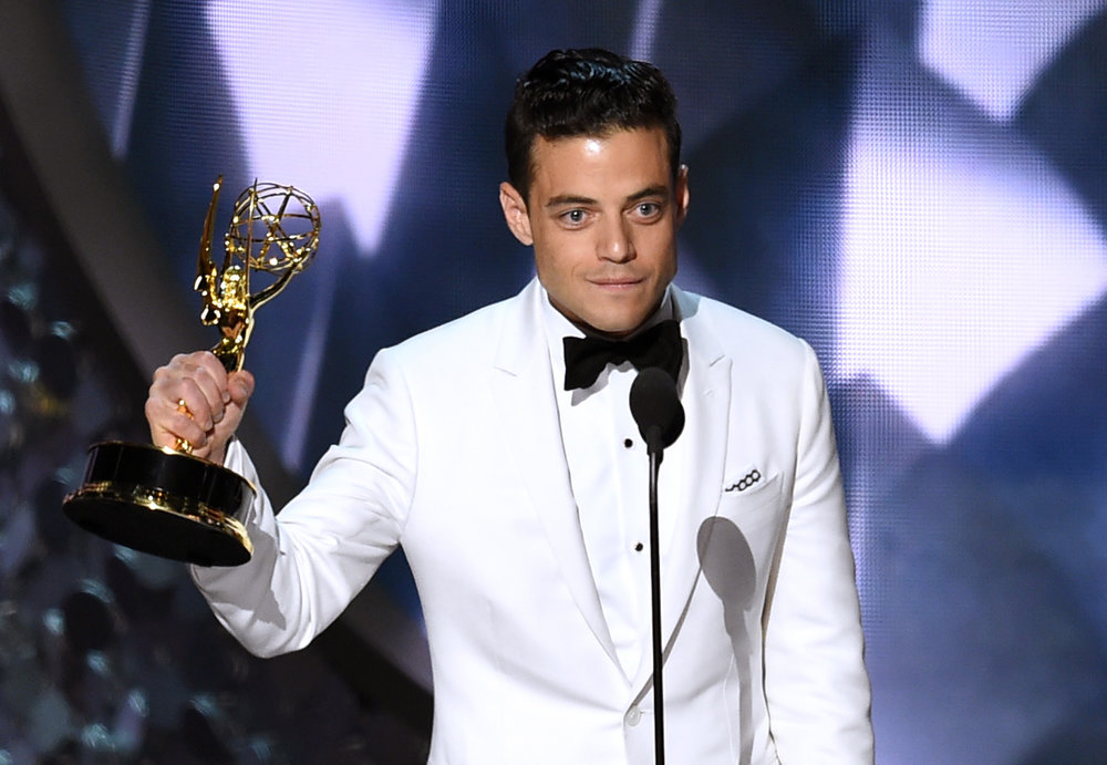 Rami Malek is shocked at his Best Actor win for 'Mr. Robot'