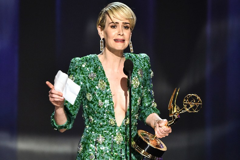 All the lawyers took home the gold for 'OJ Simpson' as Sarah Paulson finally wins her first Emmy