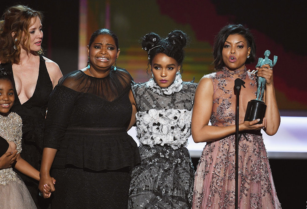 'Hidden Figures' wins top SAG award