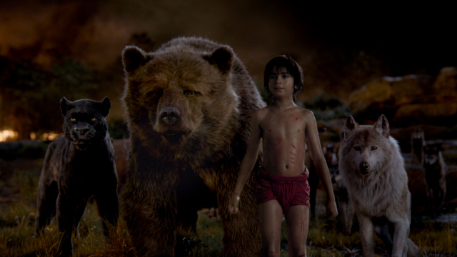 The visuals in 'The Jungle Book' have secured the visual effects prize
