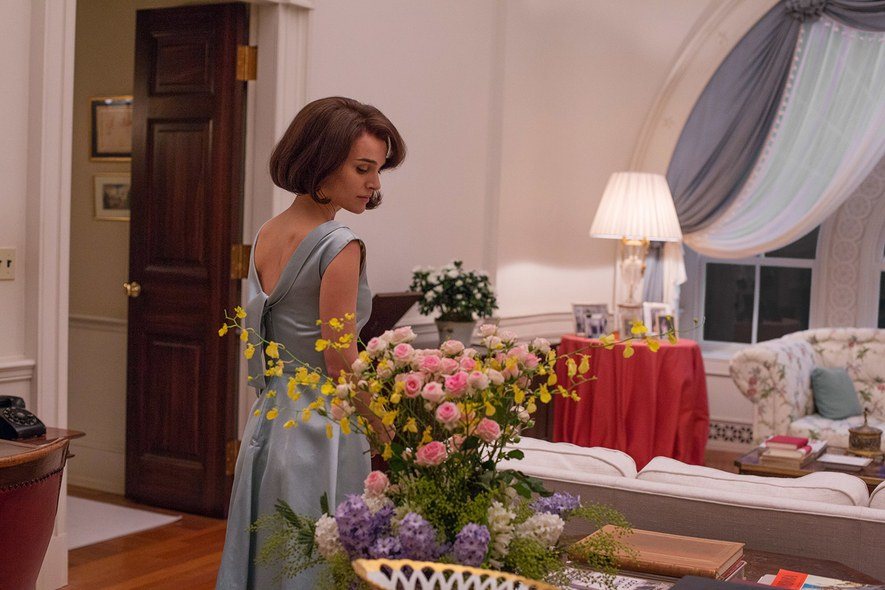 The recreation of Jackie Kennedy's wardrobe seem to set it apart from the rest