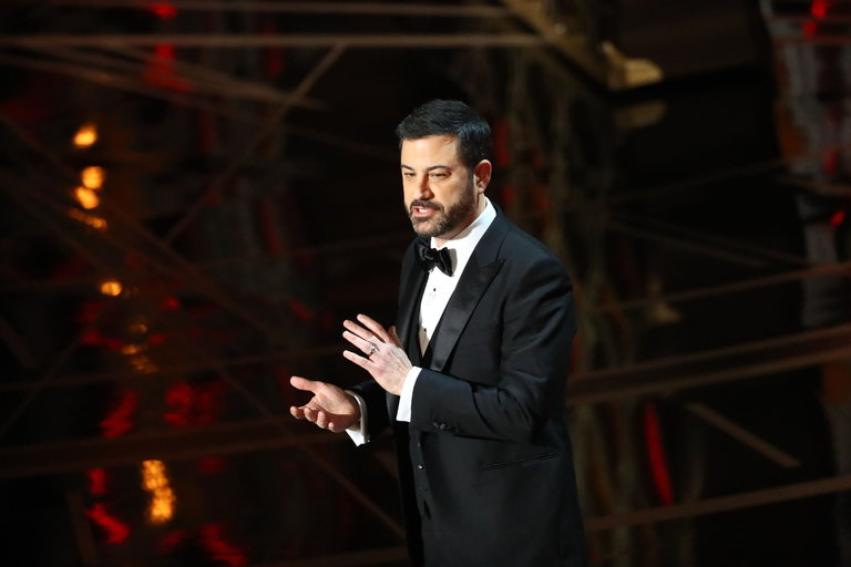 Jimmy Kimmel hosts the 89th Academy Awards