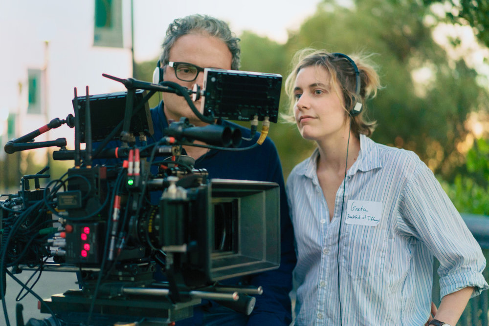 Greta Gerwig is one of the few women to be nominated for the DGA