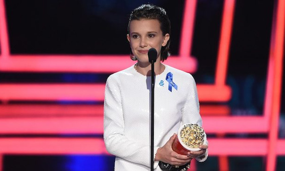 Millie Bobby Brown wins for 'Stranger Things'