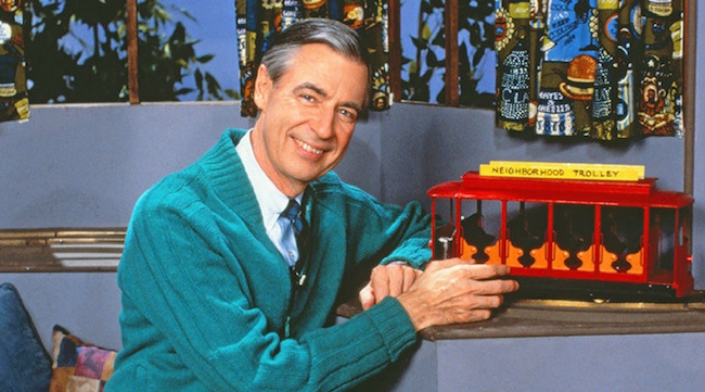 Celebrating the one and only Mr. Rogers