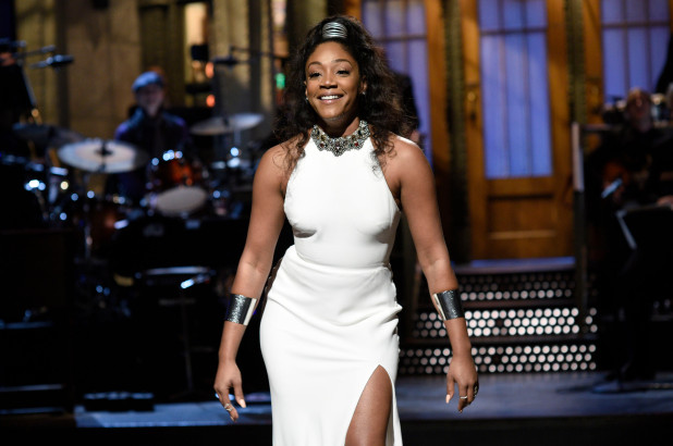 Tiffany Haddish wins for Guest Actress in a Comedy Series for hosting SNL last year