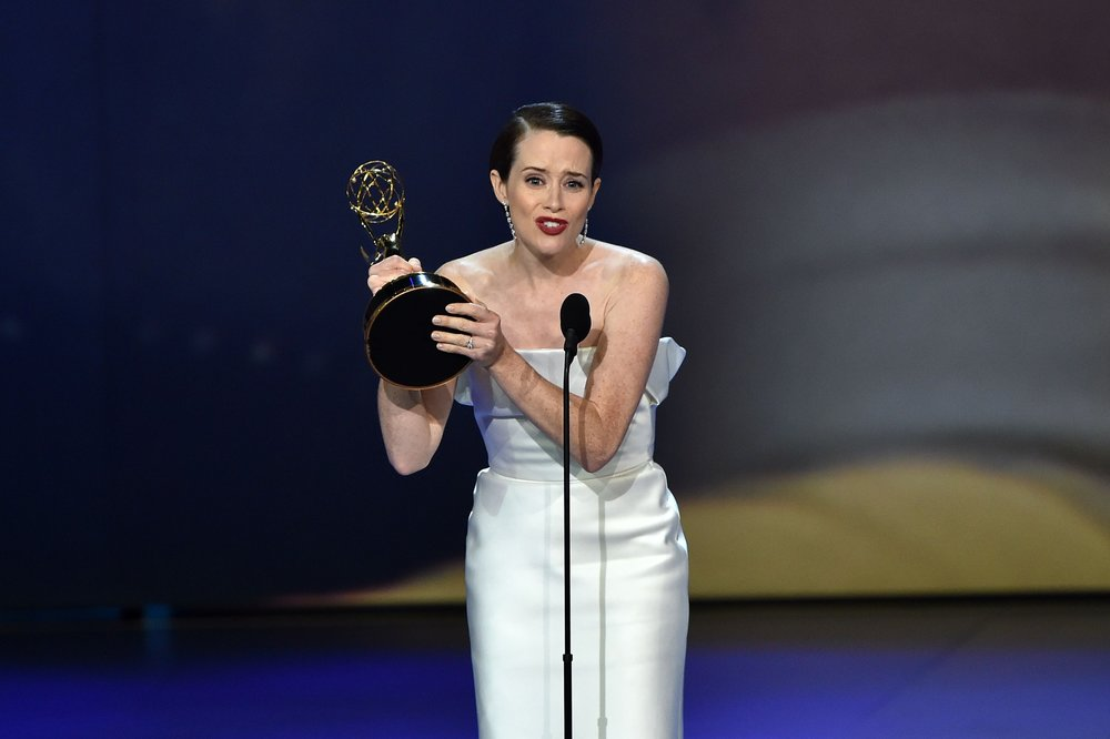 Claire Foy wins the Emmy for Lead Actress in a Drama for her last season on 'The Crown'