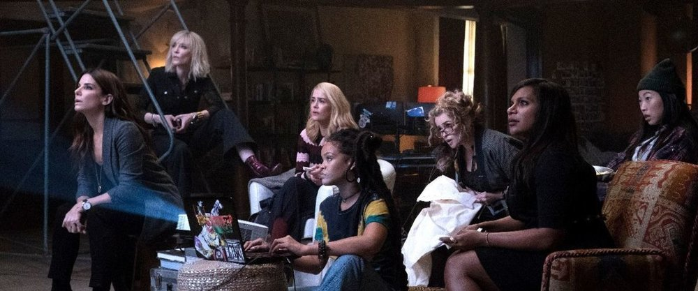 My favorite of this group of films is probably 'Ocean's 8,' believe it or not
