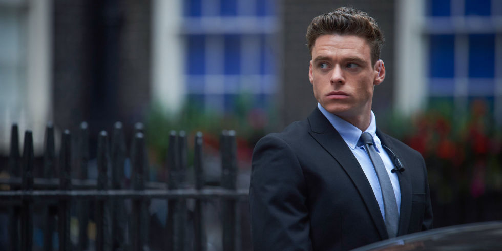 Bodyguard's  Richard Madden (otherwise known as my new TV husband) was nominated this morning, along with his show