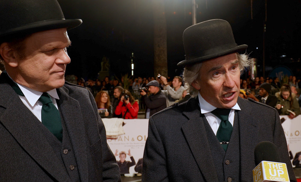 John C. Reilly had gotten some mentions for  Stan & Ollie , but the Brits went for hometown boy Steve Coogan in Best Actor for the film, which was also nominated for Best British Film and Makeup