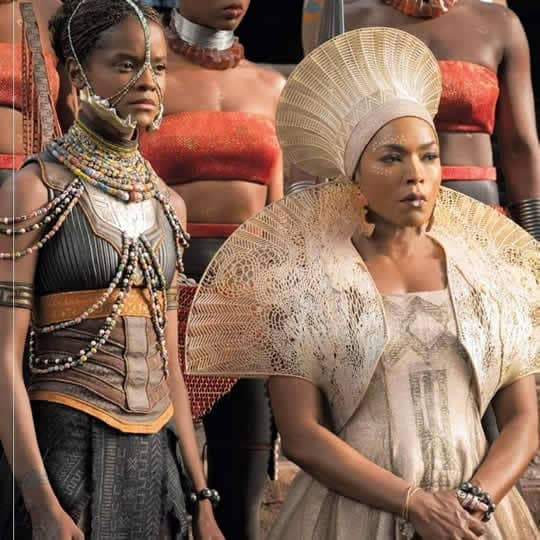 Black Panther 's elaborate costumes will likely manage an Oscar nod