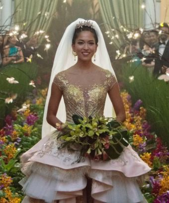 Contemporary doesn't usually make it in, but the costumes in  Crazy Rich Asians  were maybe the one thing I liked about it