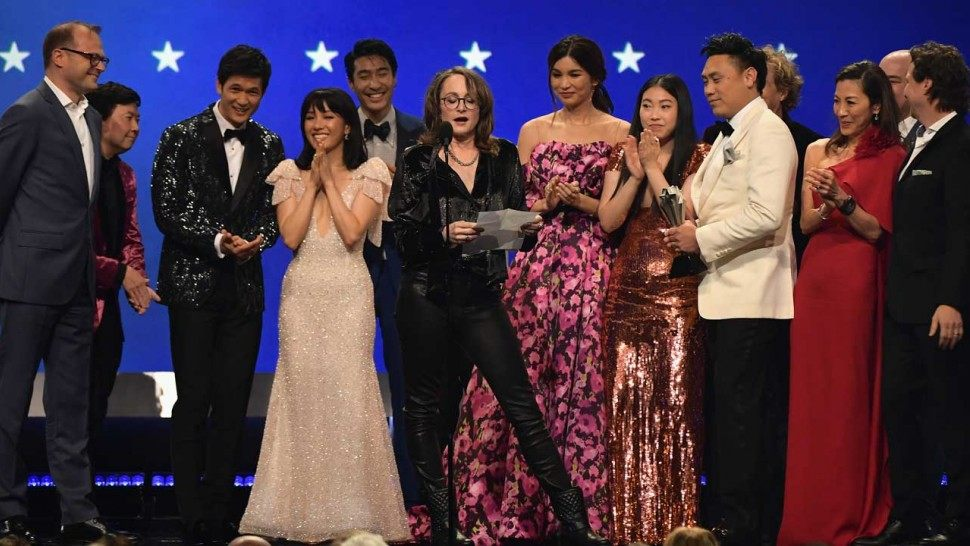 Crazy Rich Asians  won Best Comedy Movie- would  not  have been my choice