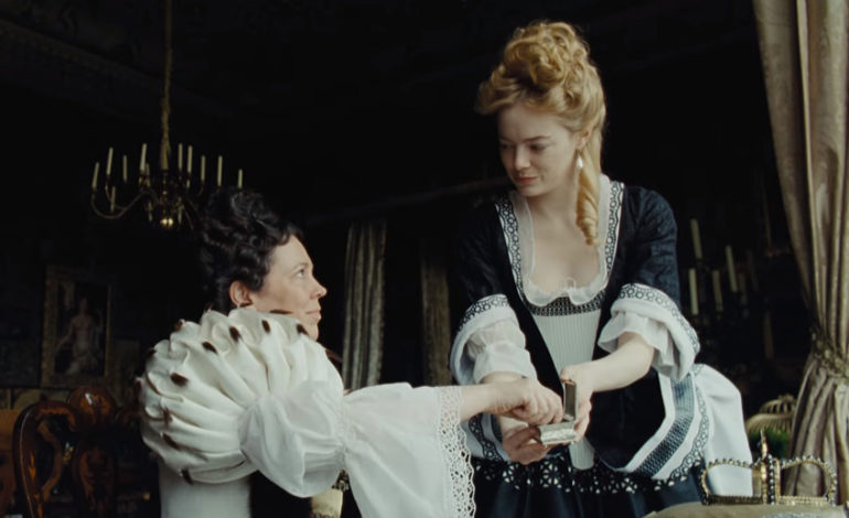 The Favourite  led with 10 nominations, along with  Roma , but is believed to be too divisive to win on a preferential ballot with AMPAS- we'll see how it does with BAFTA next month