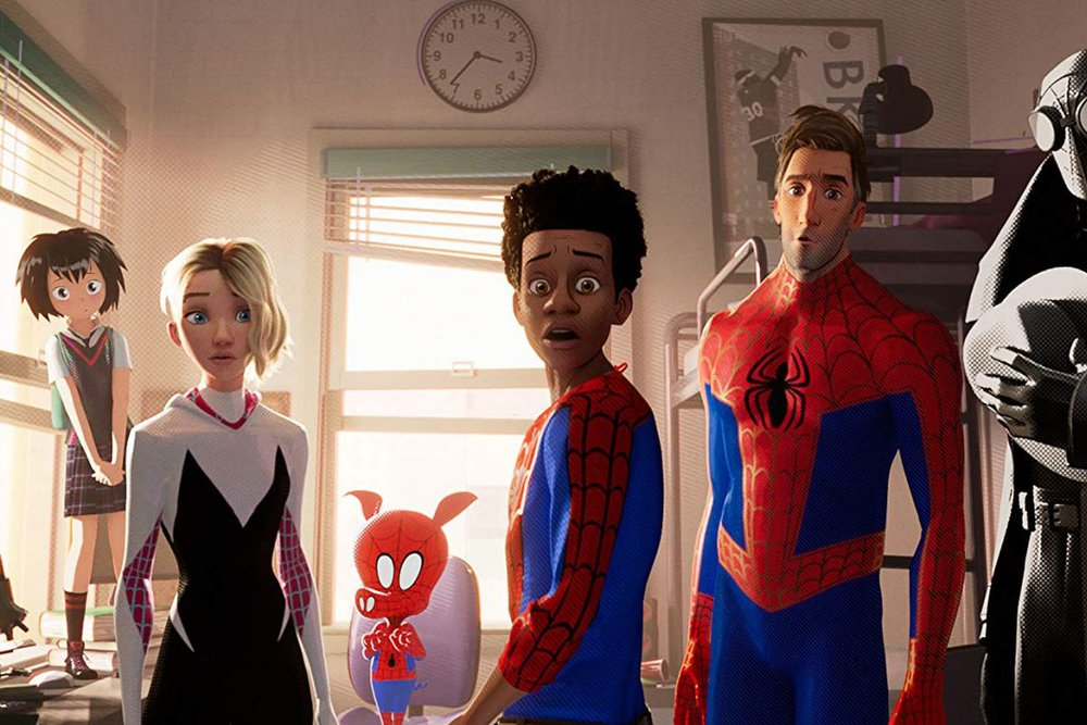 Spider-Man  has swept the season- will the Academy follow suit?