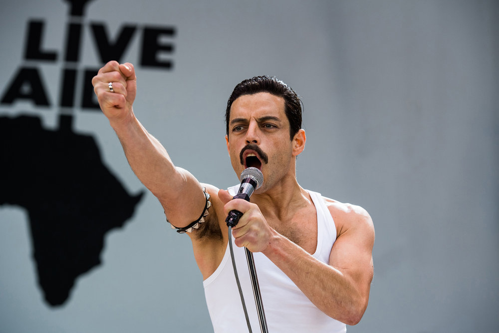 Can't help but think people are voting more for Freddie Mercury than Rami Malek