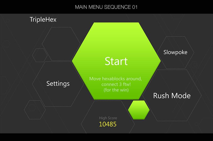Main Menu Sequence 01