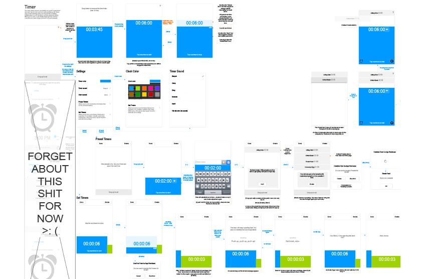Flow + Design Wireframes