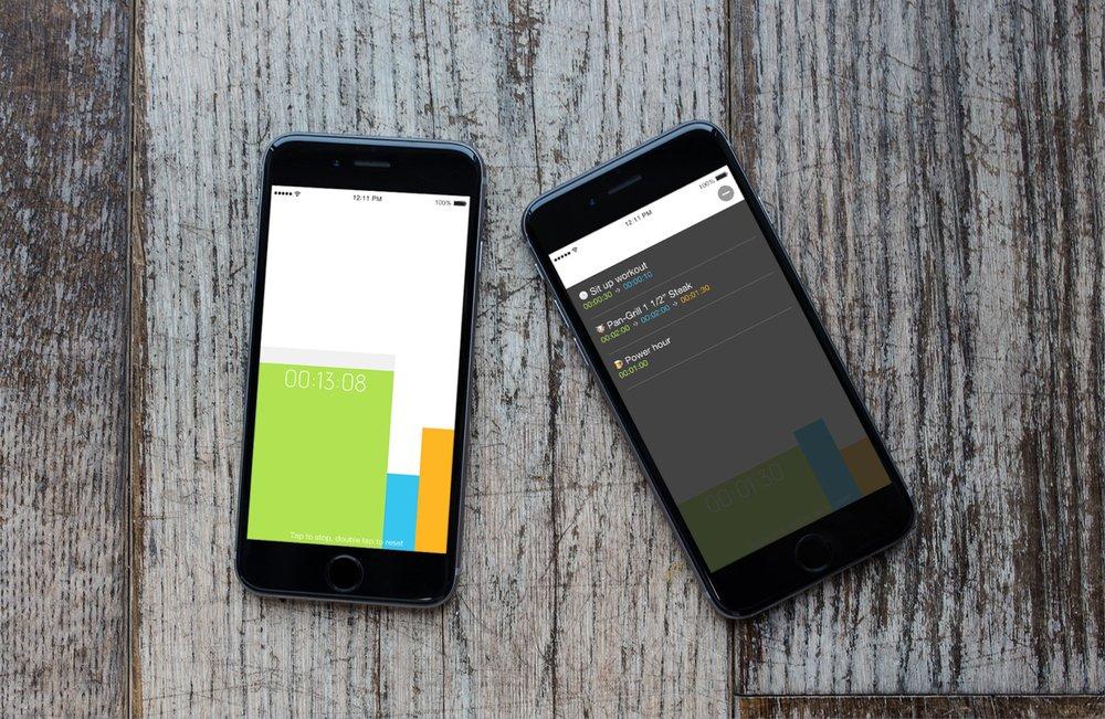 Timer App | An interval timer.