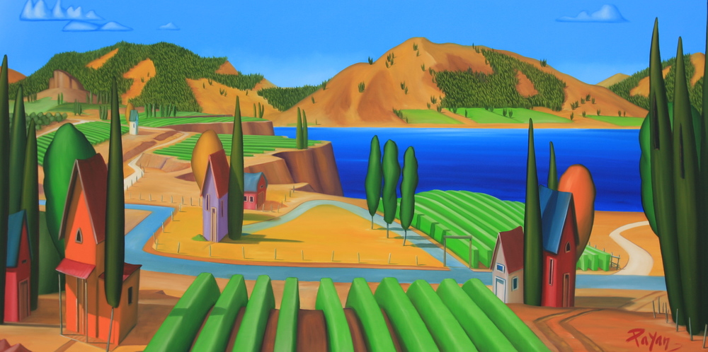 Vineyard, Okanagan Lake