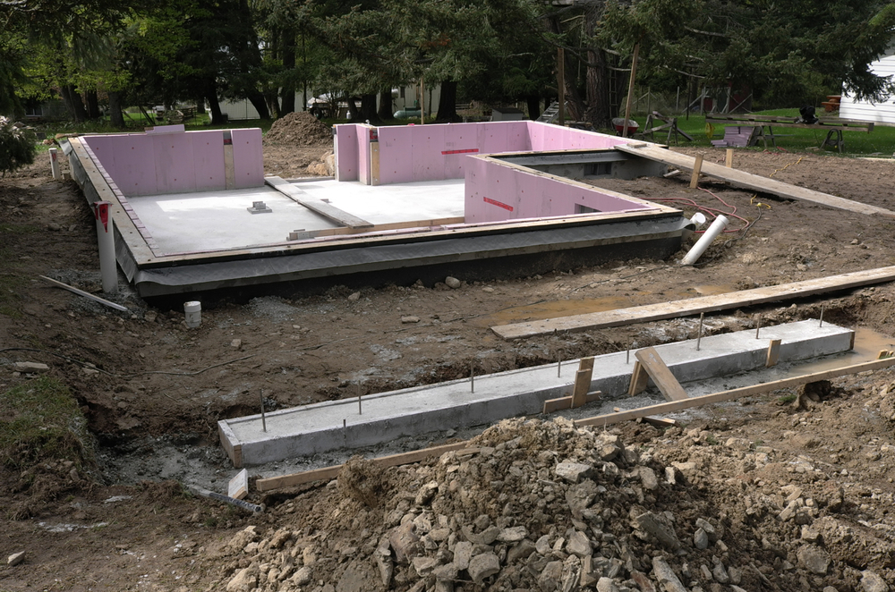 Crawlspace Slab and Insulation