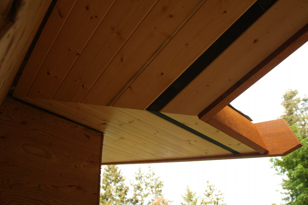 I have a new appreciation for soffits.