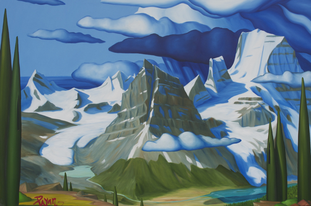 Mt. Robson, Mumm Basin