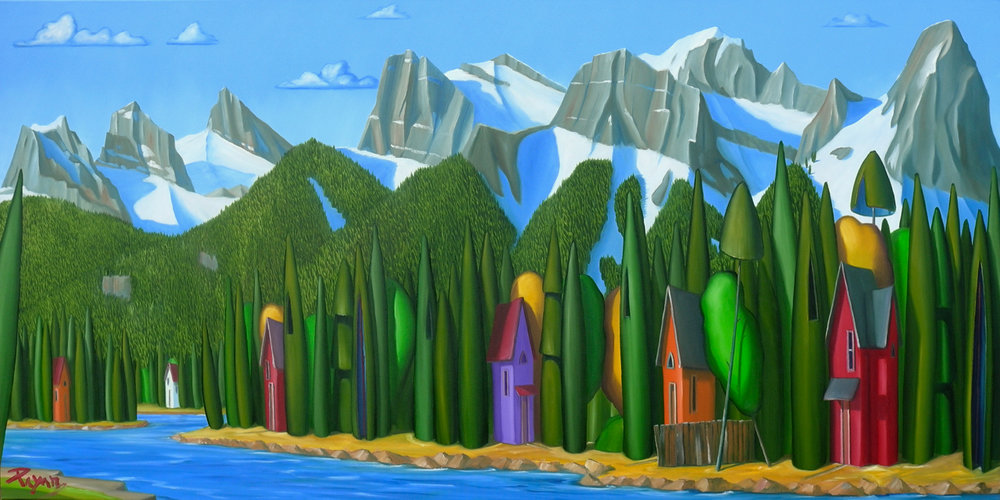 Bow River Canmore Commission