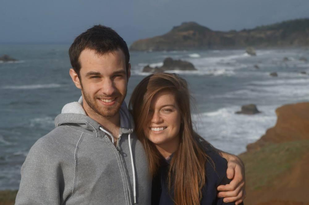 Britt & I At Otter Point, Gold Beach.jpg