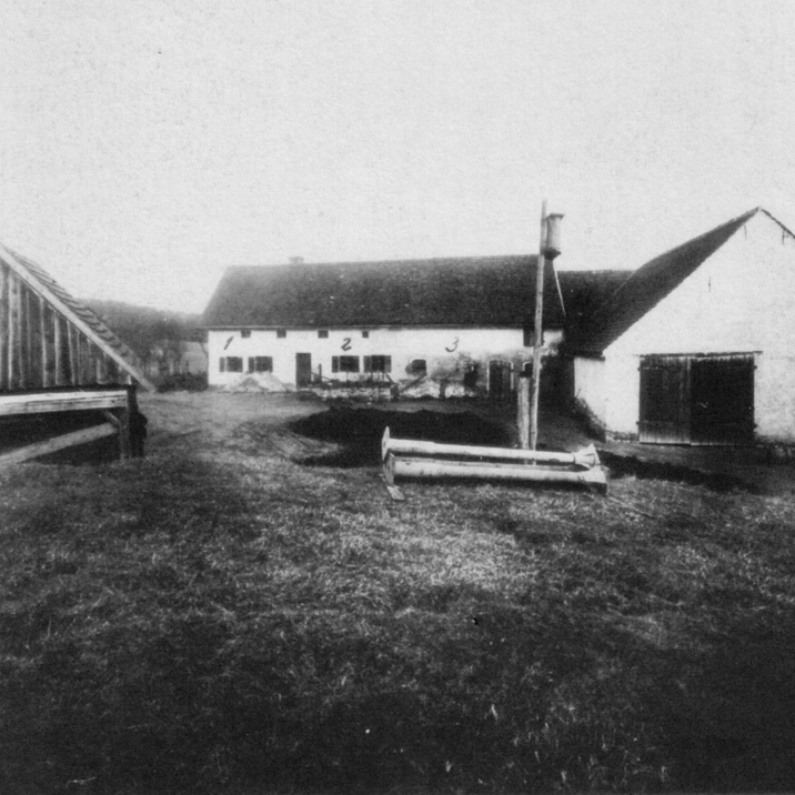 The Hinterkaifeck farm at the time of the murders.